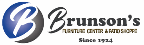 Brunson's Furniture Center & Patio Shop Logo